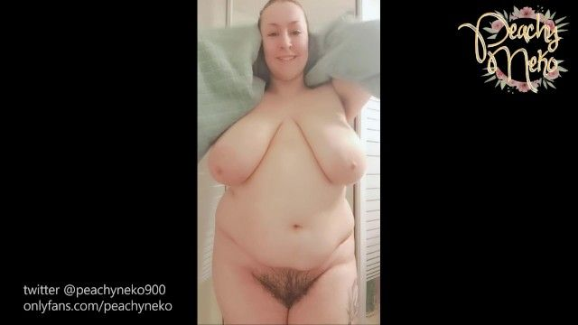 Bbw with massive breasts showers voyeur style