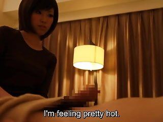 Subtitled japanese hotel massage tugjob leads to sex in hd