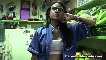 Mamacitaz - marly romero - latin chick legal age teenager drilled hard and cummed on glasses