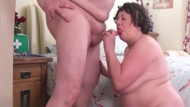 Immodest doctor bonks his bbw nasty nurse older str8 daddy