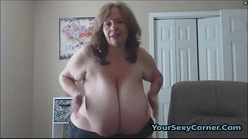 Bbw granny has the huge natural saggy bumpers in usa