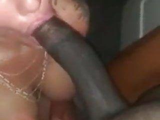 Hawt milf, bbc oral job